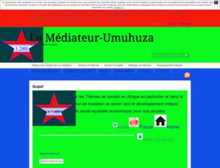 murengerantwari.unblog.fr screenshot