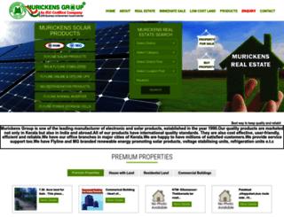 murickens.com screenshot