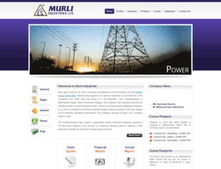 murliindustries.com screenshot