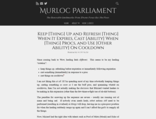 murlocparliament.com screenshot