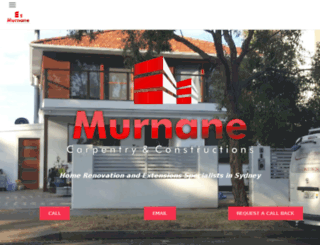 murnanecarpentry.com.au screenshot