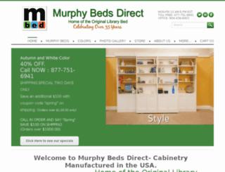 murphybedsdirect.com screenshot