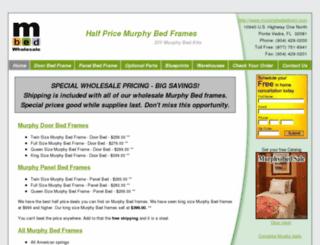 murphybedswholesale.com screenshot