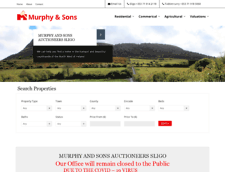murphypropertysligo.ie screenshot