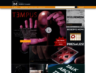 murphysmagic.com screenshot