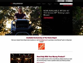 murray.com screenshot