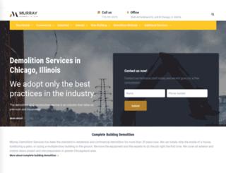 murraydemolition.com screenshot