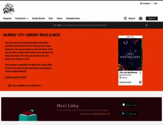murraypl.libraryreserve.com screenshot