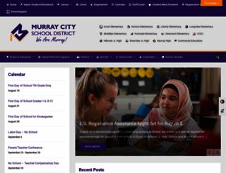 murrayschools.org screenshot