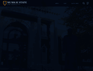 murraystate.edu screenshot