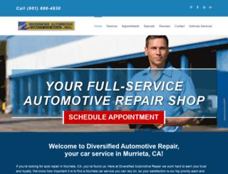 murrieta-auto-repair.com screenshot