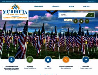 murrieta.org screenshot