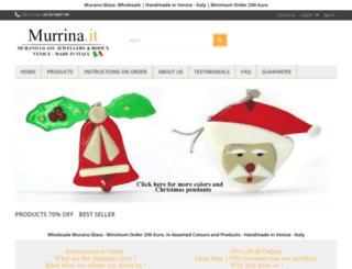 murrina.it screenshot