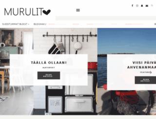 murulit.blogspot.fi screenshot