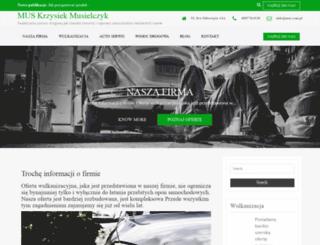 mus.com.pl screenshot