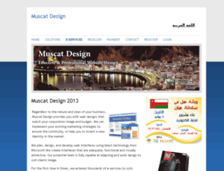 muscat-design.com screenshot