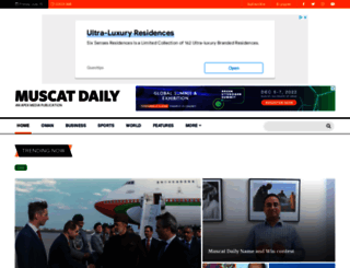 muscatdaily.com screenshot
