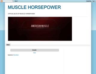 muscle-hp.blogspot.com screenshot
