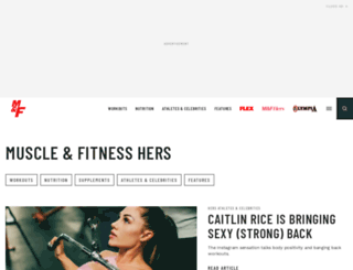muscleandfitnesshers.com screenshot