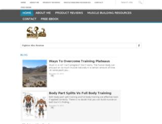 musclebuildacademy.com screenshot