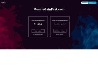 musclegainfast.com screenshot