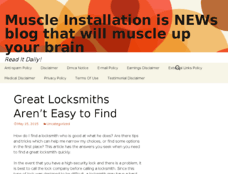 muscleinstallation.com screenshot