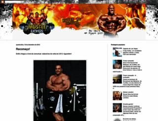 musclelicious.blogspot.com screenshot