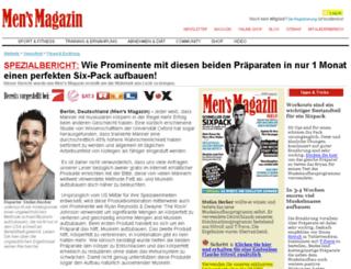 musclemagazin.com screenshot