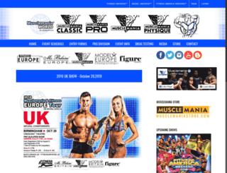 musclemaniaparis.com screenshot