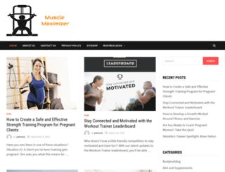musclemaximizer.net screenshot