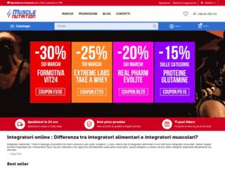 musclenutrition.com screenshot