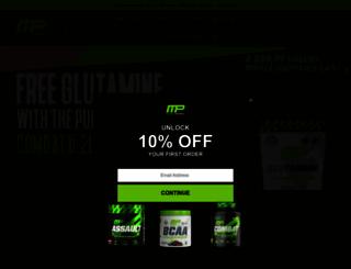 musclepharm.com screenshot