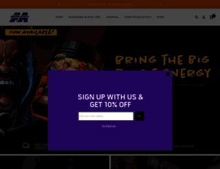 muscletech.com screenshot