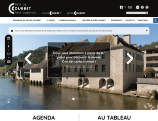 musee-courbet.fr screenshot