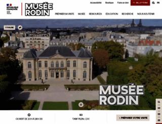 musee-rodin.fr screenshot