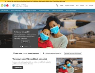museeaec.techno-science.ca screenshot
