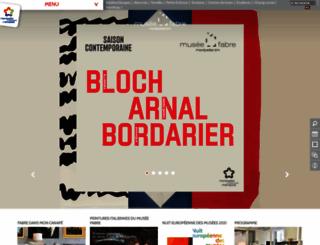 museefabre.montpellier-agglo.com screenshot