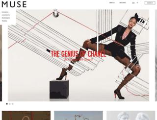 musemagazine.it screenshot