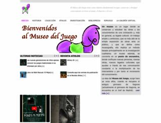 museodeljuego.org screenshot