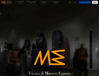 museoegizio.it screenshot