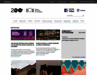 museonacional.gov.co screenshot
