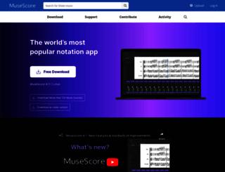 musescore.org screenshot