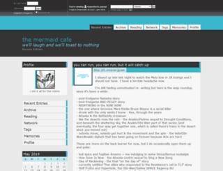 musesfool.dreamwidth.org screenshot