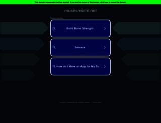 musesrealm.net screenshot