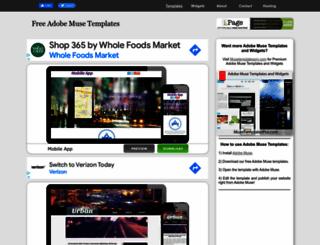 musetemplatesfree.com screenshot