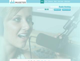 museter.com screenshot
