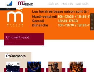 museum-larochelle.fr screenshot