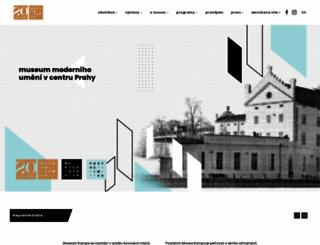 museumkampa.cz screenshot