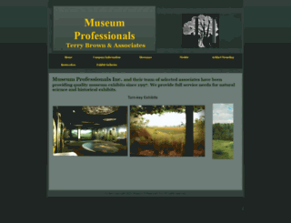 museumprofessionals.com screenshot