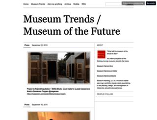 museumtrends.org screenshot